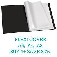 Flexicover A5/A4/A3 Display Book Presentation Folder Business Portfolios (Tiger)
