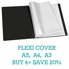 Flexicover A5/A4/A3 Display Book Presentation Folder Business Portfolios (Tiger)