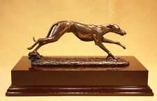 Running Greyhound - Boxed New plus  Mahogany Base