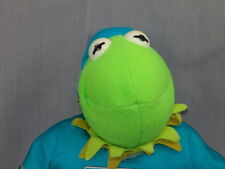 NHL KERMIT THE FROG JERSEY MUPPETS PLUSH HOCKEY PLAYER JIM HENSON STUFFED ANIMAL