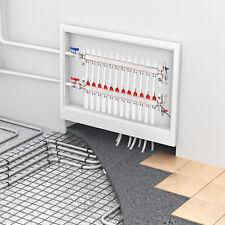 12 Loop 12 Pex Manifold Stainless Steel Radiant Floor Heating Setkit Us