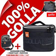 New Golla Camera Case +Shoulder Strap Digital SLR DSLR Cameras Water Resistant