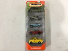 Matchbox Coffee Cruisers Mooneyes, hearse, CHASE Jaguar 5 pack FREE ship, read!