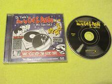 DJ Yoda How To Cut And Paste Mix Tape Vol 2 CD Album ft Pharcyde Wu Tang Clan DJ