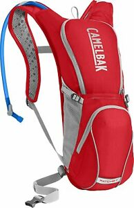 Camelbak Unisex Ratchet 100 oz Hydration Bike Pack Red Cycling Backpack Bag Mesh