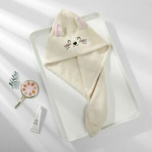 Dry Hair Hats Towels Bathroom Microfiber Solid Quickly Homes Textile Embroidery