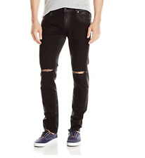 GUESS Men's Skinny Long Night Ride Wask with Slits,Size:40