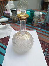 Carafe en cristal 19ème Vonèche