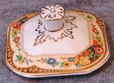W.H. Grindley & Co Ltd England Ivory China BRUCE Sugar Bowl Lid