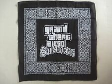 GTA Grand Theft Auto San Andreas BANDANNA promotional 2004 Rockstar head scarf