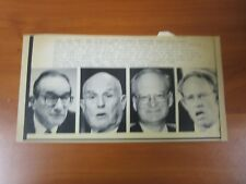Vintage Ap Wire Press Photo 1991 People In Charge Of The Bank Richard Breeden