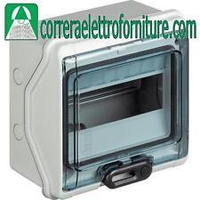 Centralino quadro elettrico parete 8 moduli DIN IP65 BTICINO F107N8D