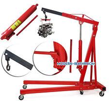 Heavy Duty Folding Engine Crane 1Tonne Cranes Hoist Lift Workshop Hydraulic Used