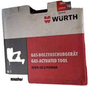 Würth DIGA CS-2 Power Gas Bolzenschubgerät NEU und Originalverpackt. 0864902