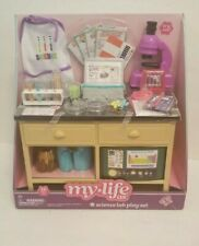 """My Life As Science Lab Play Set for 18"""" Dolls 38 Piece myLife Brand - NEW IN BOX"""