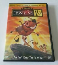 The Lion King 1 1/2 (DVD, 2004, 2-Disc Set, Limited Edition) **HILARIOUS**
