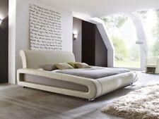 Polsterbett Blain 160x200 beige muddy Bettgestell Doppelbett Ehebett Bett