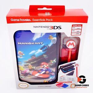 Nintendo 3DS MarioKart Game Traveler Essential Pack [Brand New]