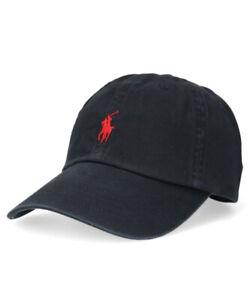 Polo Ralph Lauren CLASSIC SPORT CAP HAT 57cm~59cm Adjustable Polo Logo Cap Hat