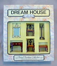 Vintage Dolls House Boxed Mobistyl Dream House 1:12 Elegant Room Set - Spain