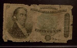 Fractional Currency | 50 cents | Circulated | Green Seal