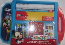 Disney Mickey Mouse Clubhouse Coloring Sheet Portable Rolling Paper Art Desk