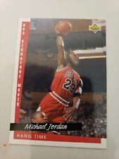 UPPER DECK NBA SIGNATURE MOVES #237 MICHAEL JORDAN 1993-1994 TRADING CARD