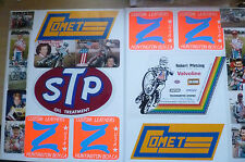 Sticker- Formula 1 SPEEDWAY MULTI STICKER ON A WHITE FOLDER (Rare)