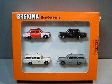 Brekina 9003 Feuerwehr DRK Stuttgart Sonderserie 1989 MB Mercedes-Benz 180 BFW