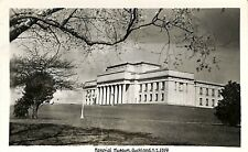 Postcard New Zealand N.Z. Auckland Memorial Museum 5356 Real Photo