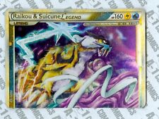 Pokemon TCG ~ Raikou & Suicune Legend (Top) ~ 82/95 ~ Unleashed ~ NM-
