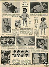 1965 PAPER AD Doll Beatles Caricature Betsy Wetsy Wishnik Thumbelina Ideal Kissy