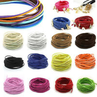 1m Wholesale 3mm Suede Leather String Jewelry Making Bracelet DIY Thread Cord