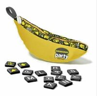 Bananagrams Party Edition Family Fun Board Game Word Racing Frenzy Word Tiles