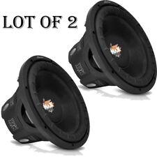 (2) Lanzar MAXP154D Max Pro 15'' 2000 Watt Small Enclosure Dual 4 Ohm Subwoofer