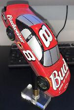 Budweiser #8 Race Car Beer Tap Handle On Base Dale Earnhardt, Jr.
