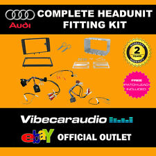 Connects2 CTKAU01 Double Din Fascia Car Stereo Fitting Kit For Audi A3 2003-2012