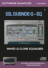 Xtreme Samples SSL Duende G-EQ Waves Q-Clone Library
