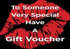 Blank Beauty Salon gift vouchers x15 new to our range.PROMO!!
