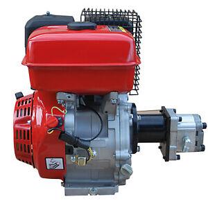 Hydraulikaggregat Benzin-Motor 9PS mit Pumpe 200bar z.B. für Holzspalter NEUTEIL