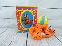 Ringling Bros Barnum & Bailey Tiger Candle Circus Vintage 1987 New in Box