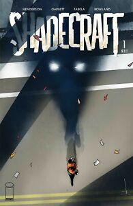 SHADECRAFT #1 - FIRST PRINT - JOCK VARIANT COVER B - IMAGE COMICS