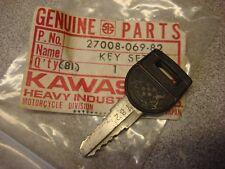 KAWASAKI NOS OEM PRE-CUT KEY # 782 KZ 1000 & POLICE 1977-1981 PART# 27008-069-82