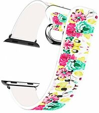 Iwatch Band For For Apple Watch All Models 42mm Decorative Flowers For Apple
