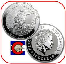 2014 Australia Kookaburra 10 oz. Silver Coin - BU direct from Perth Mint