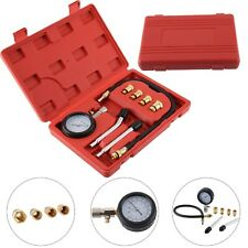 Petrol Engine COMPRESSION TESTER GAUGE KIT Cylinder Pressure Leakage Test Tool