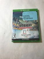 NEW SEALED Steep: Winter Games Edition - PyeongChang 2018 - Xbox One Game