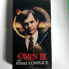 The Omen III 3 The Final Conflict VHS! 1992 Cult Horror! Possession The Excorist