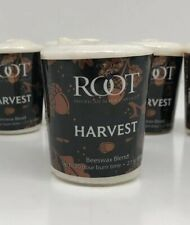 Set Of 6 Votive Candles-HARVEST Scent-Noir Collection-Up To 20hrs. Made In USA.