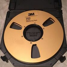 "3M 996 Audio Mastering Tape Gold Take Up Reel 1/2""x10.5"" Reel To Reel"